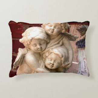 Tres Cherubs Accent Pillow