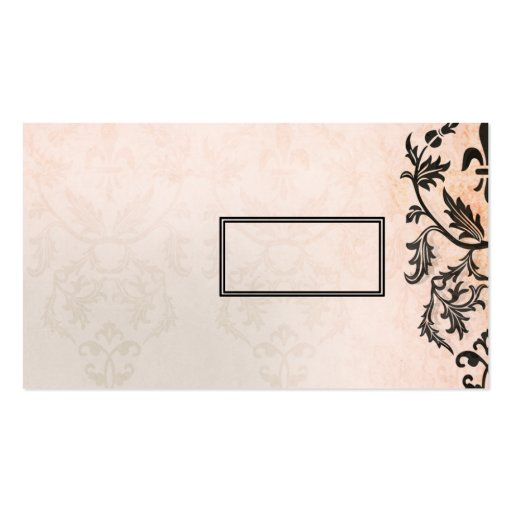 Tres Chic Business Card Template