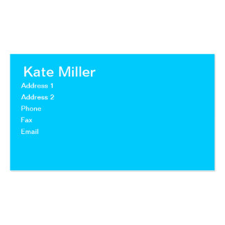 Tres Chic Calling Cards Business Card