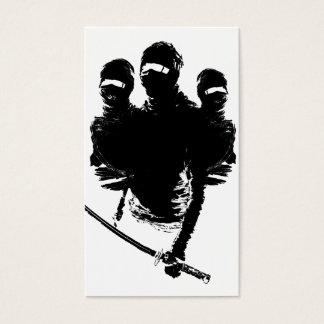 tres ninjas business card