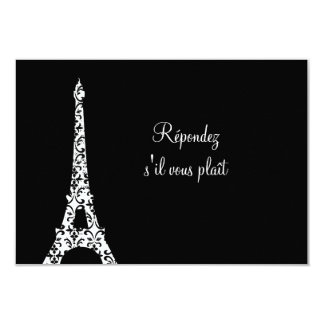 Tres Paris RSVP Card