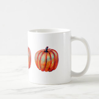 Tres Pumpkins on a Coffee/Tea Mug