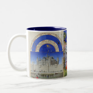 Tres Riches Heures Two-Tone Coffee Mug