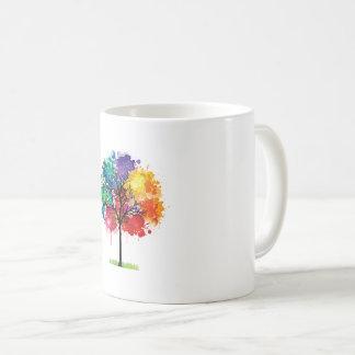 tress design coffee mug