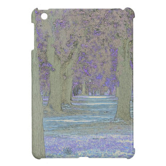 Tress in a park iPad mini cases