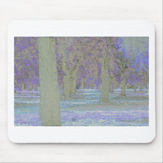 Tress in a park mouse pad