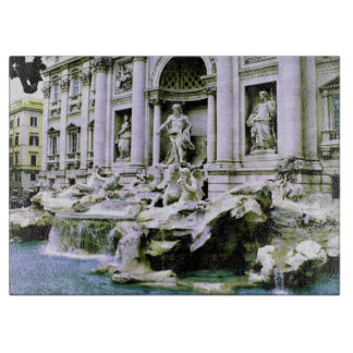 Trevi Fountain Cutting Board