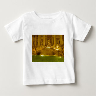 Trevi Fountain evening Baby T-Shirt