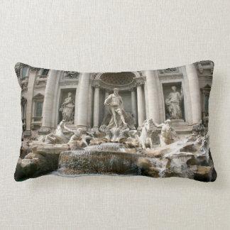Trevi Fountain (Fontana di Trevi) -Rome Lumbar Pillow
