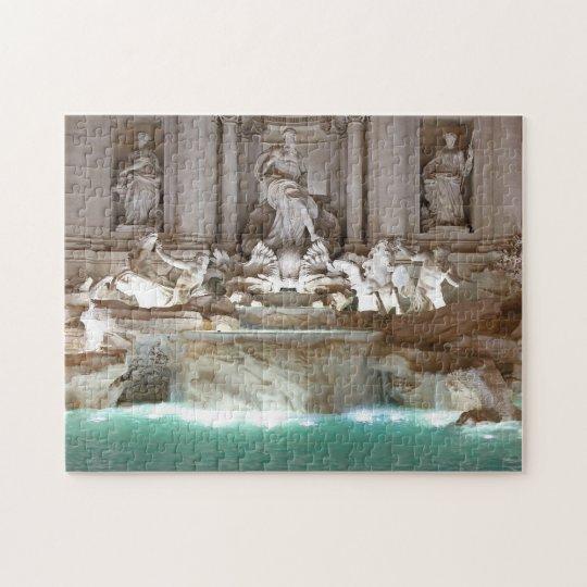 Trevi Fountain Jigsaw Puzzle