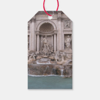 Trevi Fountain Pack Of Gift Tags