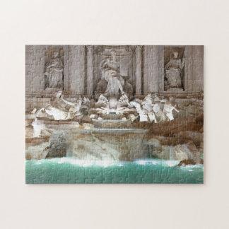 Trevi Fountain Puzzle