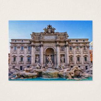 Trevi fountain, Roma, Italy Business Card