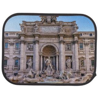 Trevi fountain, Roma, Italy Car Mat