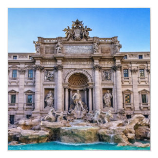 Trevi fountain, Roma, Italy Card