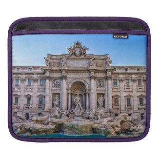 Trevi fountain, Roma, Italy iPad Sleeve