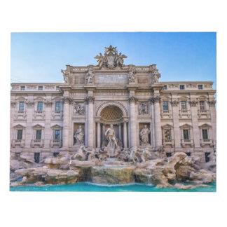 Trevi fountain, Roma, Italy Notepad