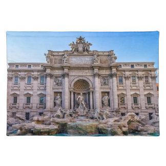 Trevi fountain, Roma, Italy Place Mats