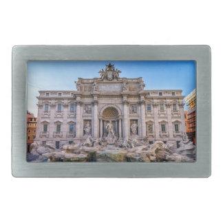 Trevi fountain, Roma, Italy Rectangular Belt Buckle