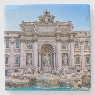 Trevi fountain, Roma, Italy Stone Beverage Coaster