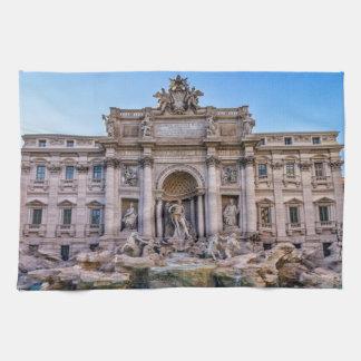 Trevi fountain, Roma, Italy Towels