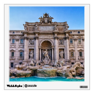 Trevi fountain, Roma, Italy Wall Sticker
