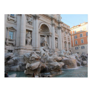 Trevi Fountain Rome, Italy Postcard
