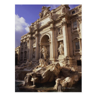 Trevi Fountain, Rome, Italy Postcard