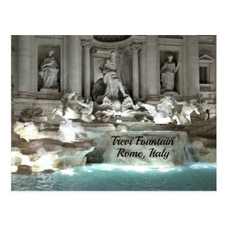 Trevi Fountain, Rome Italy Postcard