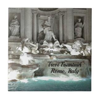 Trevi Fountain, Rome Italy Tile
