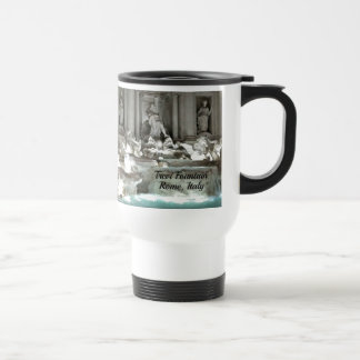 Trevi Fountain, Rome Italy Travel Mug