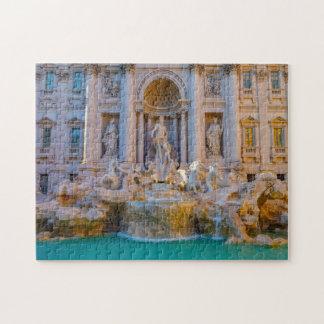 Trevi Fountain Rome. Jigsaw Puzzle