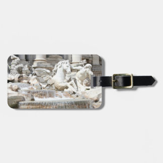 Trevi Fountain Triton and Horse in Rome, Italy Luggage Tag