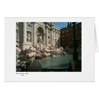 Trevi, Trevi Fountain - Rome 1762 Card
