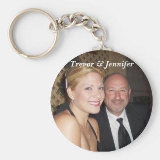 Trevor & Jennifer Keychain