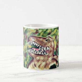 Trex art magic mug