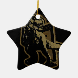 TREX BAND CERAMIC ORNAMENT