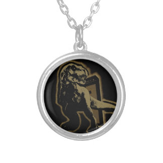 TREX BAND SILVER PLATED NECKLACE