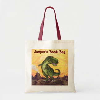 TRex Personalized Book Bag