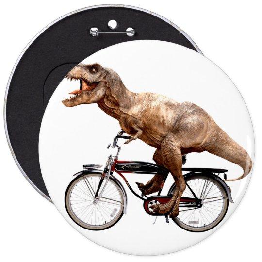 Trex riding bike 6 inch round button