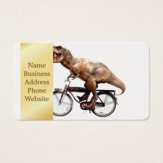Trex riding bike business card