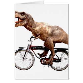 Trex riding bike card