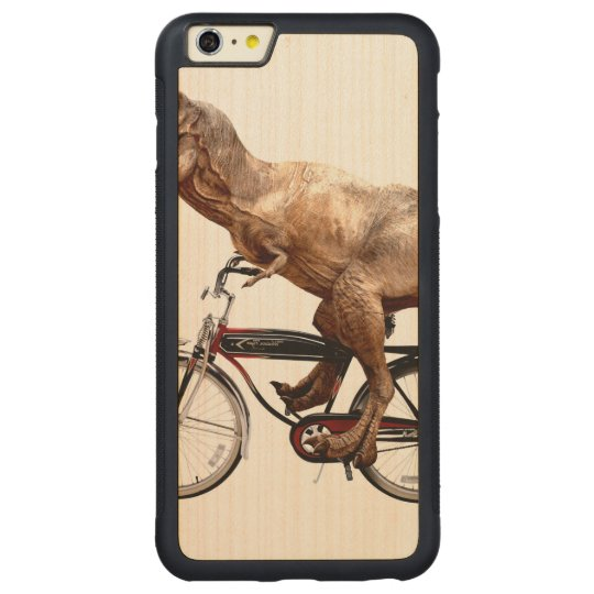 Trex riding bike carved® maple iPhone 6 plus bumper case