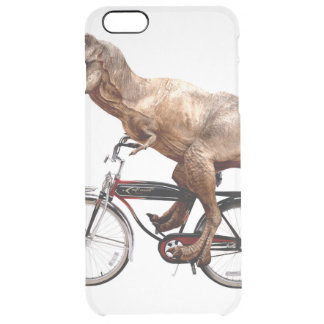 Trex riding bike clear iPhone 6 plus case