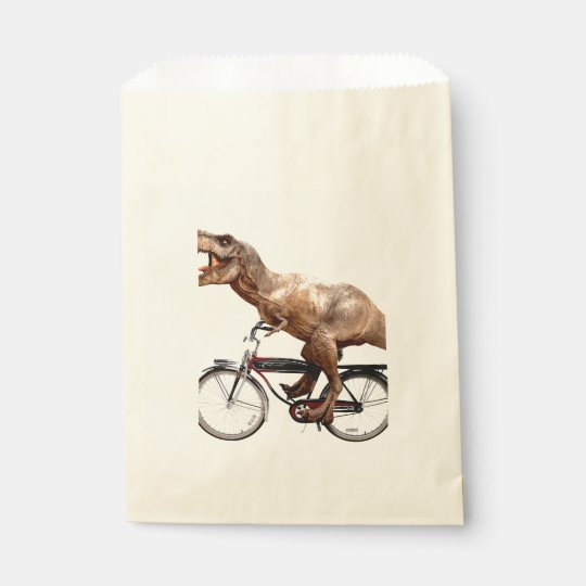 Trex riding bike favour bag
