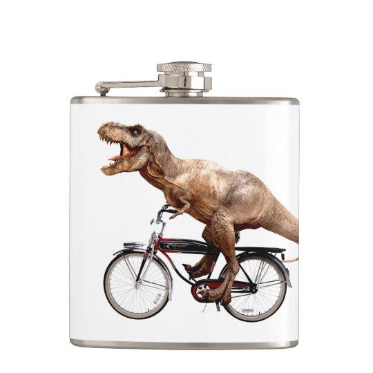Trex riding bike hip flask