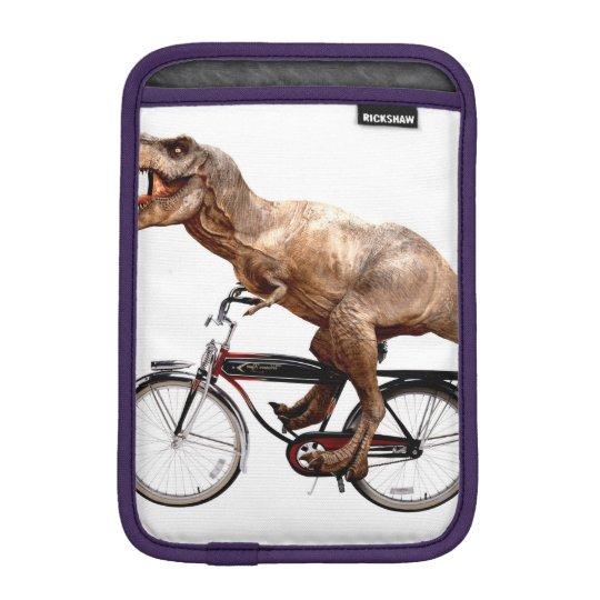Trex riding bike iPad mini sleeve