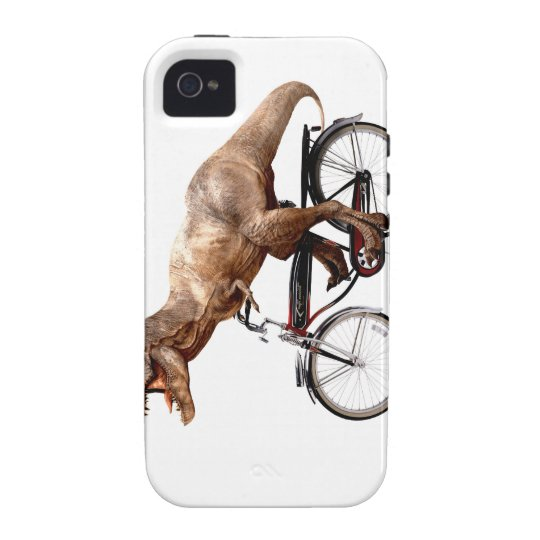 Trex riding bike iPhone 4 cases
