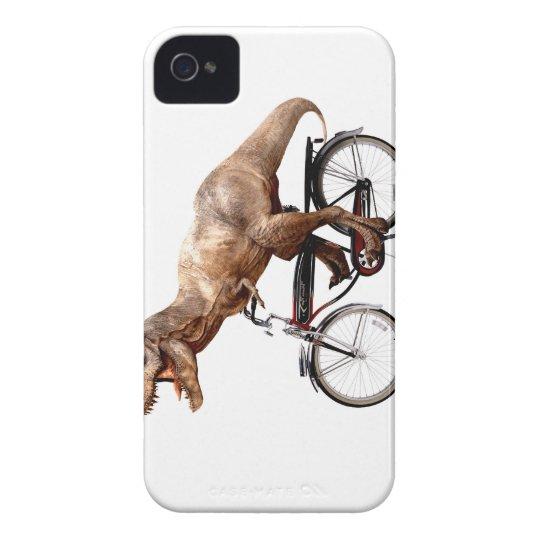 Trex riding bike iPhone 4 cases