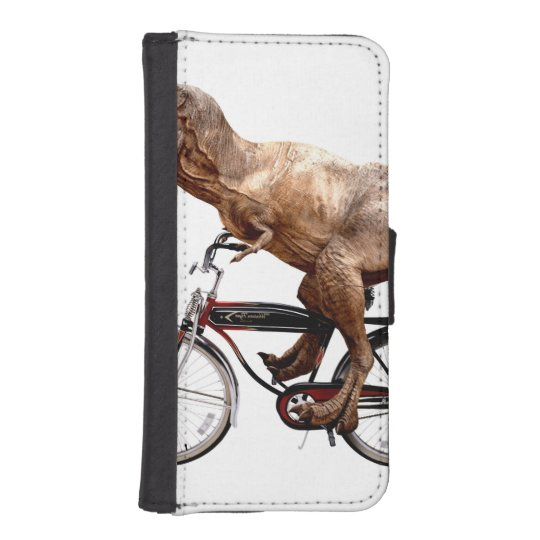 Trex riding bike iPhone 5 wallet cases
